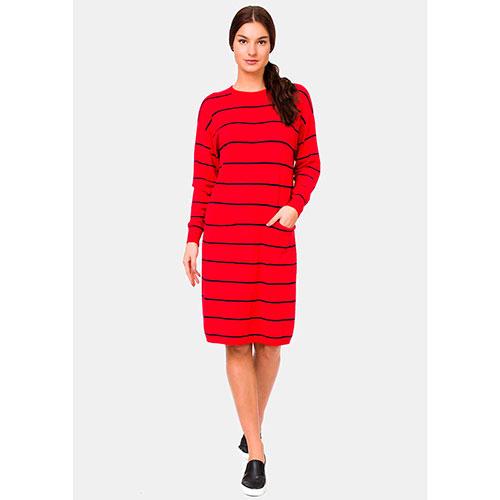 149b1bcc22e ☆ Красное платье RITO из трикотажа прямого силуэта купить в Киеве ...