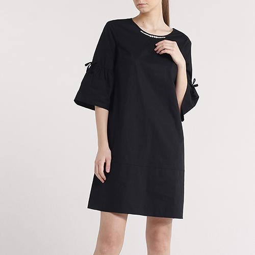 Свободное платье Blugirl Blumarine с укороченным рукавом, фото
