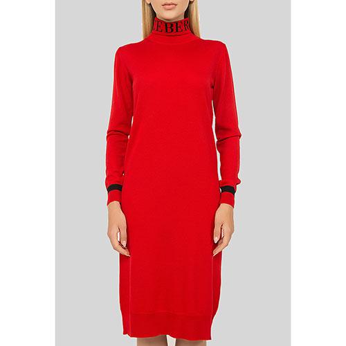Красное платье Iceberg с длинным рукавом, фото