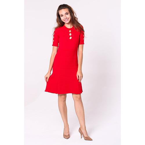 4bf5f562a64f919 ☆ Платье Kenzo красного цвета до колен купить в Киеве, Украине ...