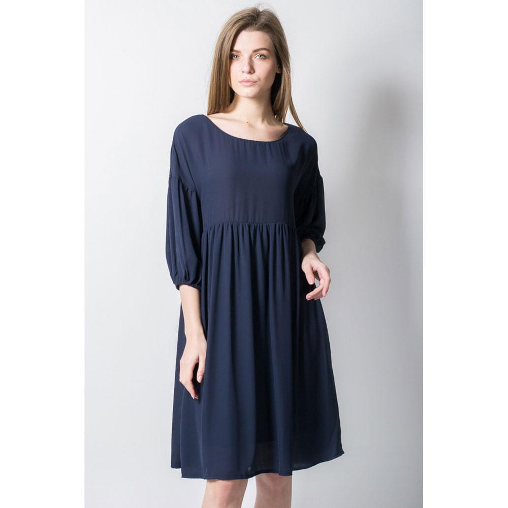 Легкое платье Tensione in с пышными рукавами