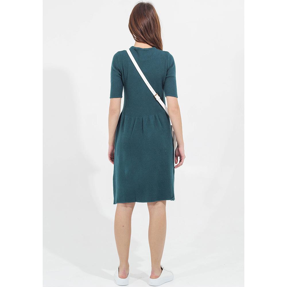 Трикотажное платье Tensione in с расклешенной юбкой