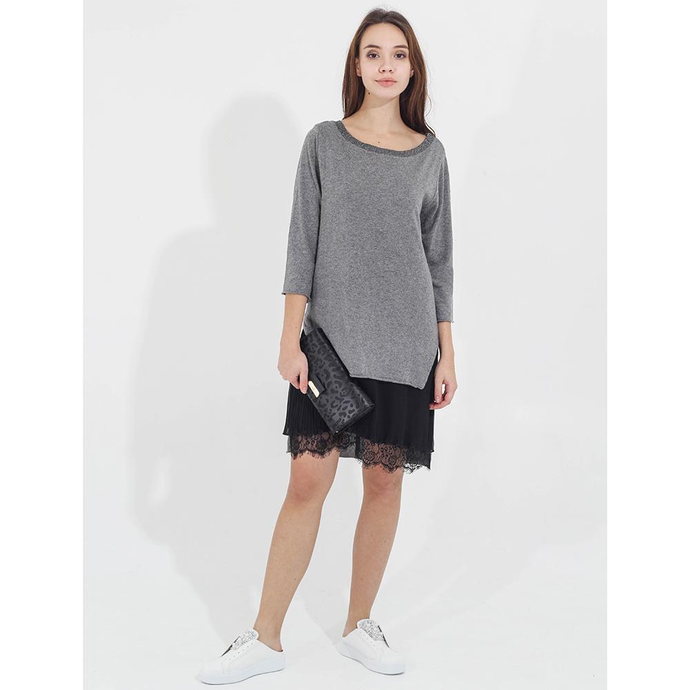 Платье -туника Tensione in с кружевным низом