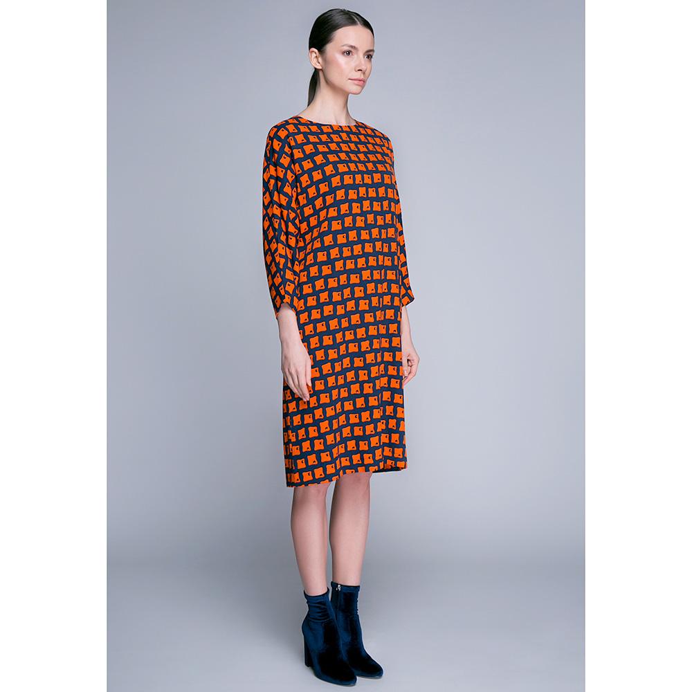 Платье свободного кроя Shako с длинным рукавом