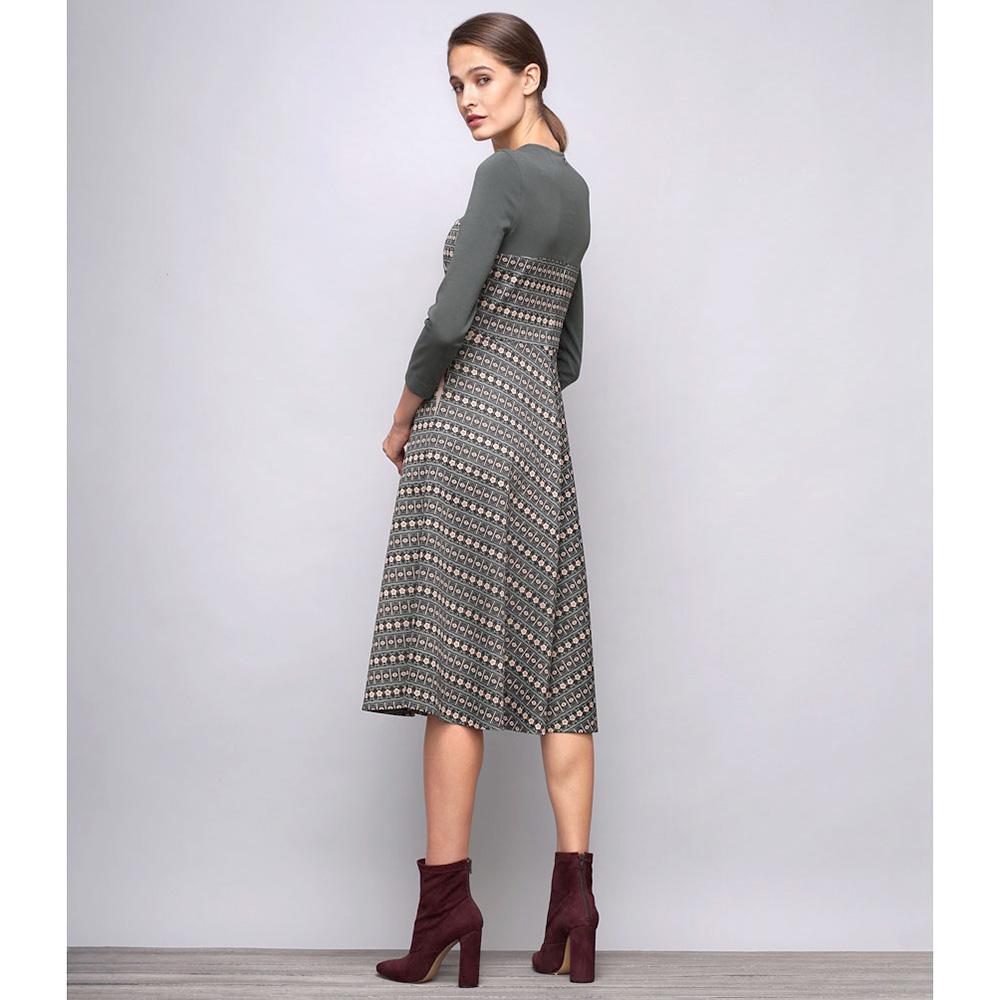 Платье Shako миди с геометрическим принтом