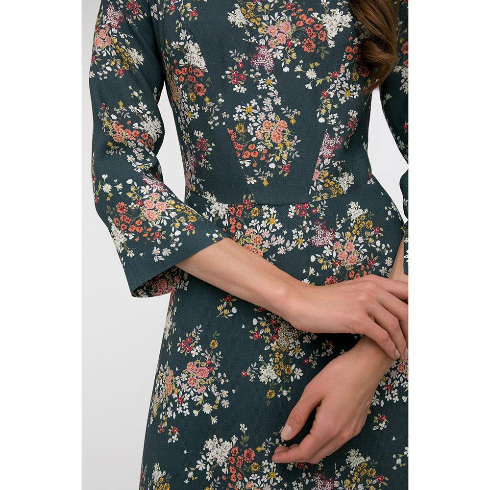Платье с рукавом три четверти Shako в мелких цветах