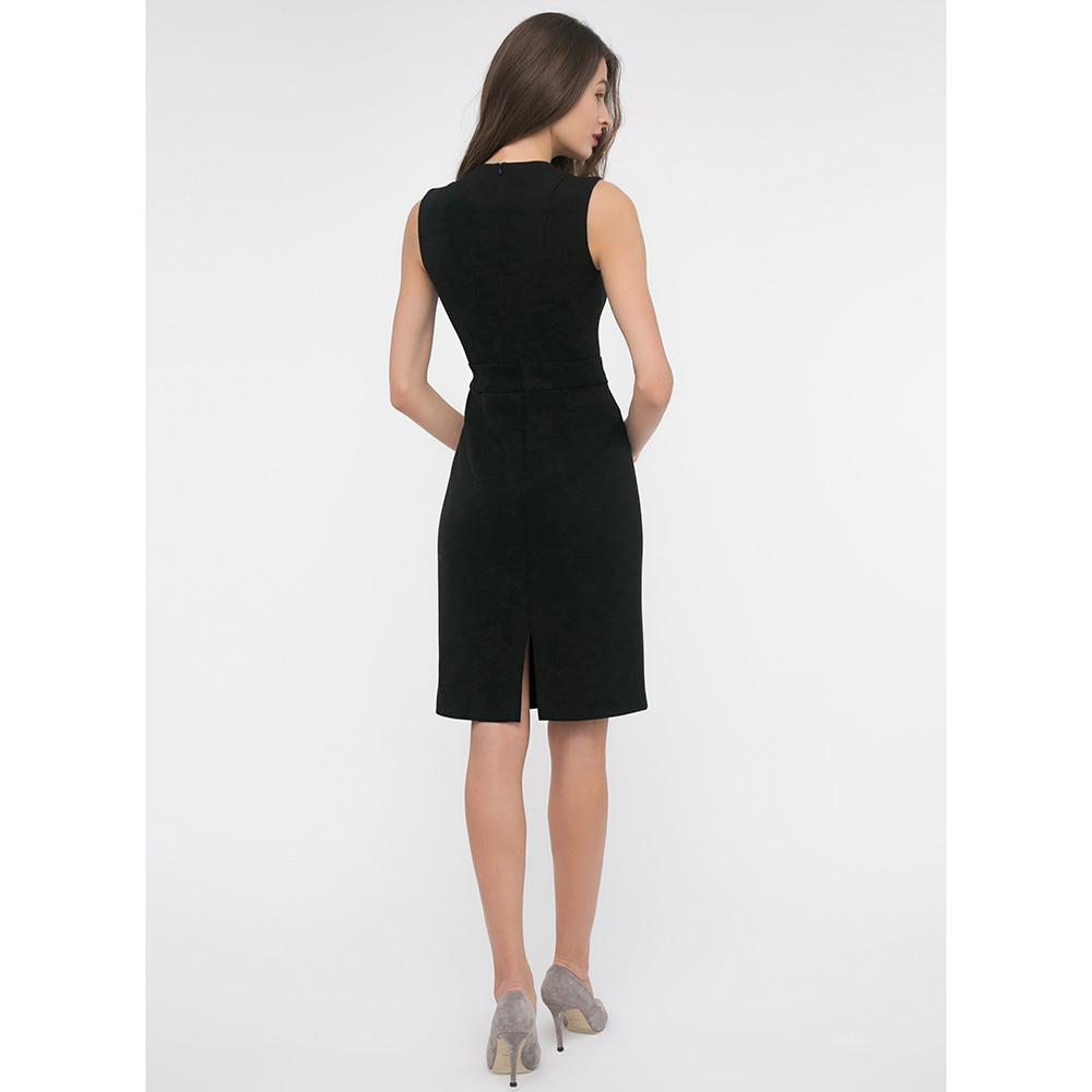 Платье-футляр Shako черного цвета без рукавов