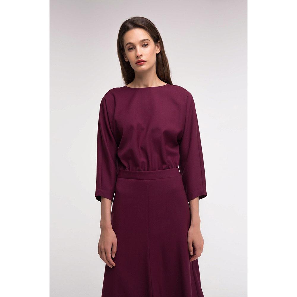 Платье Shako бордового цвета