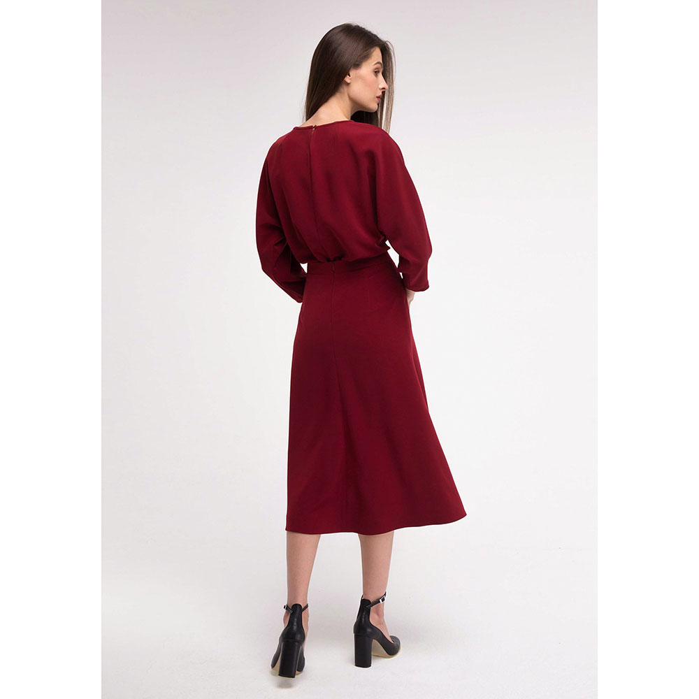 Платье-миди Shako с длинными рукавами