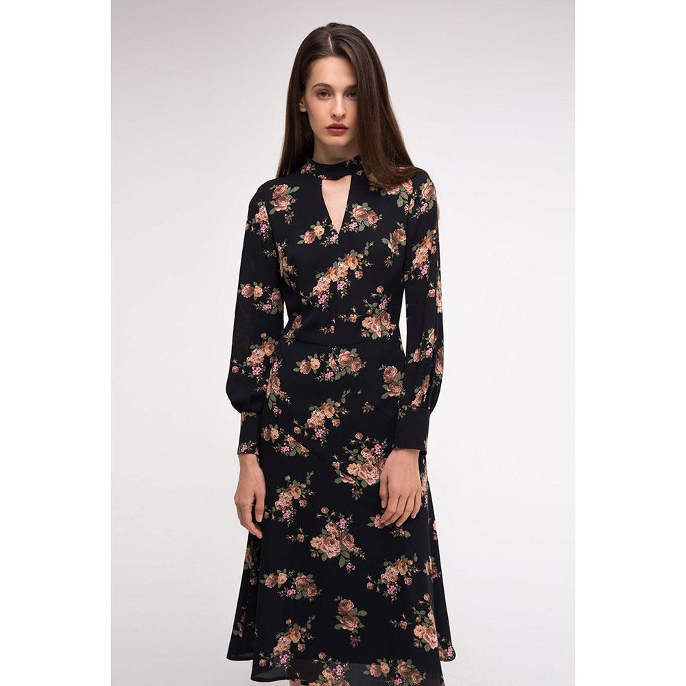 Полуприлегающее платье Shako с цветочным принтом
