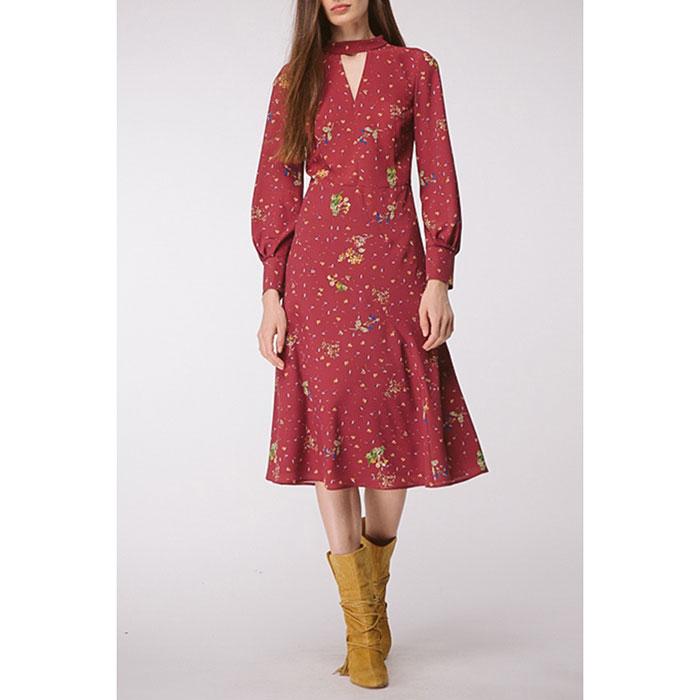 Платье с длинным рукавом Shako с цветочным принтом