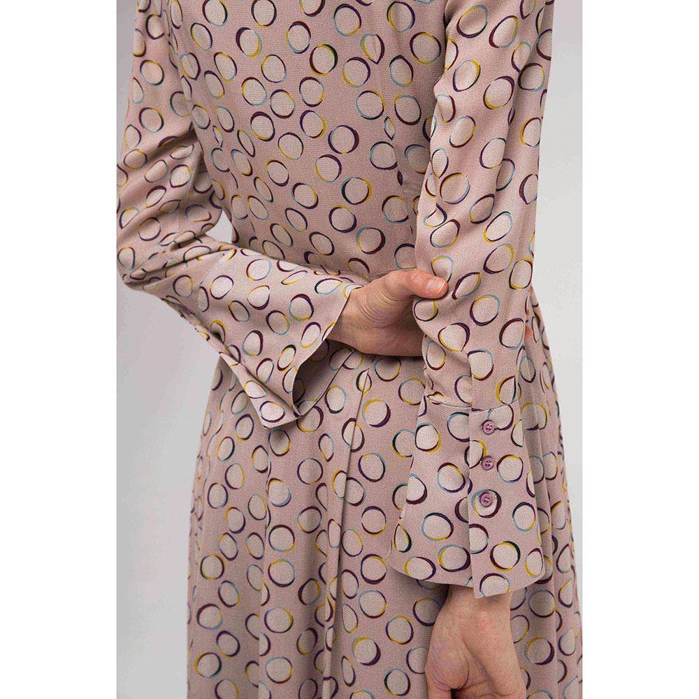 Платье Shako с воротником-шарфом