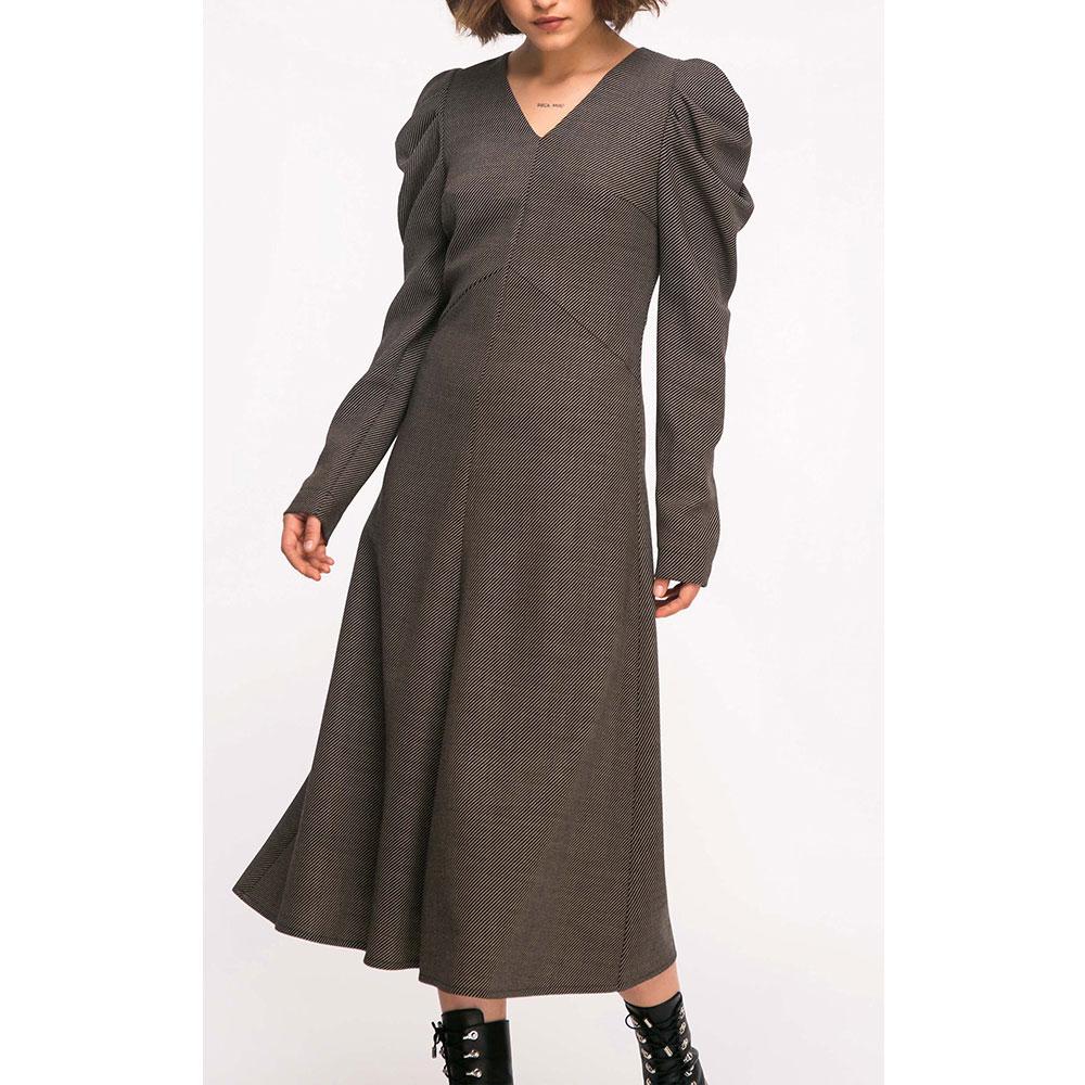 Повседневное платье Shako с рукавами-буфами