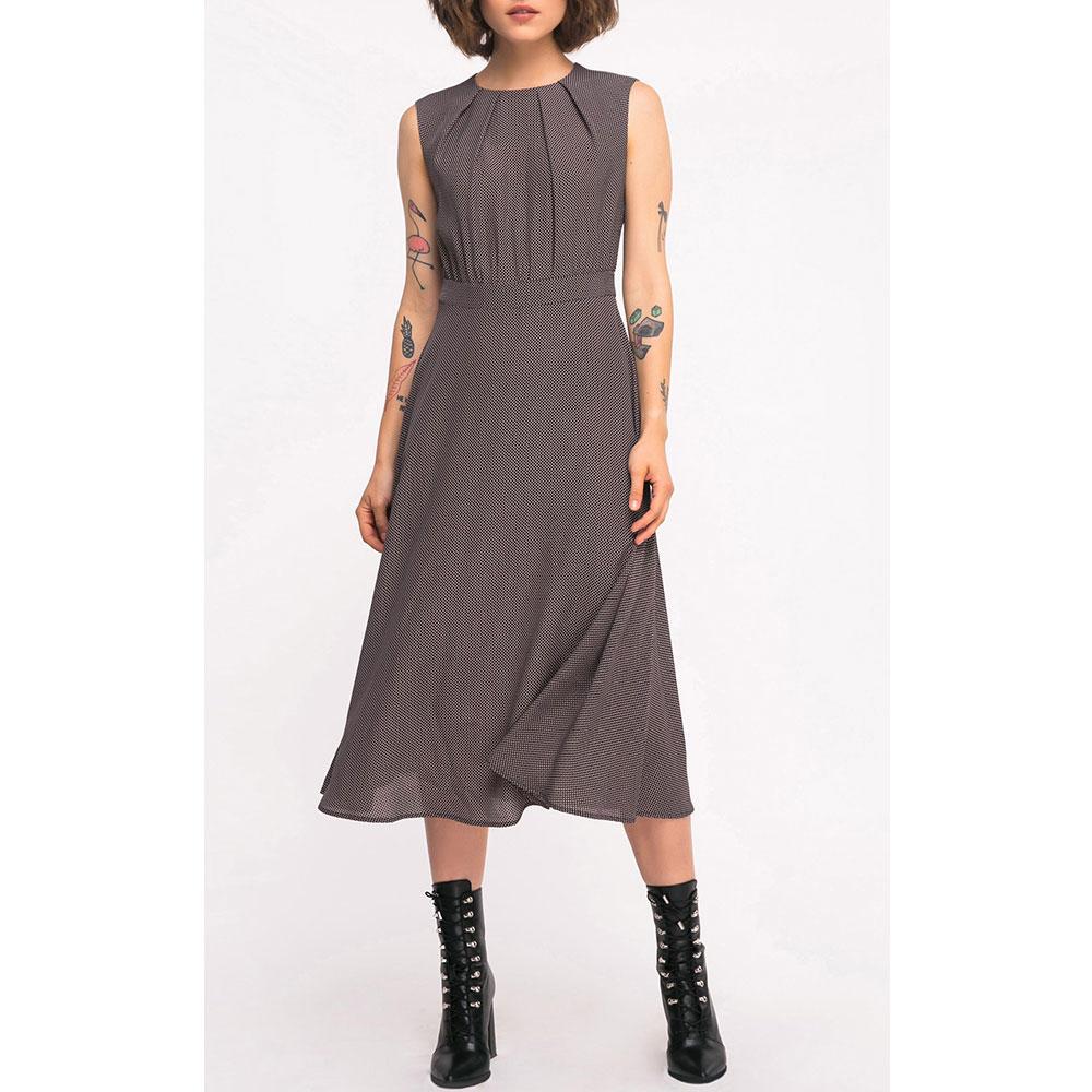 Коричневое платье Shako без рукавов