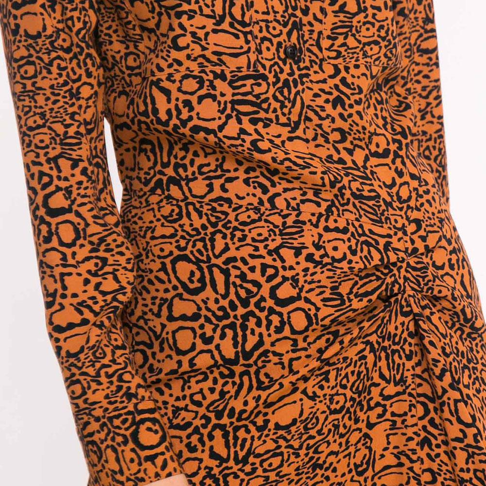 Платье-рубашка Shako с ассиметричной юбкой