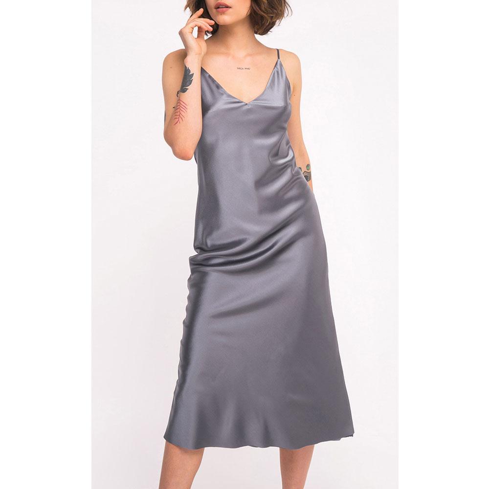 Шелковое платье Shako на бретельках