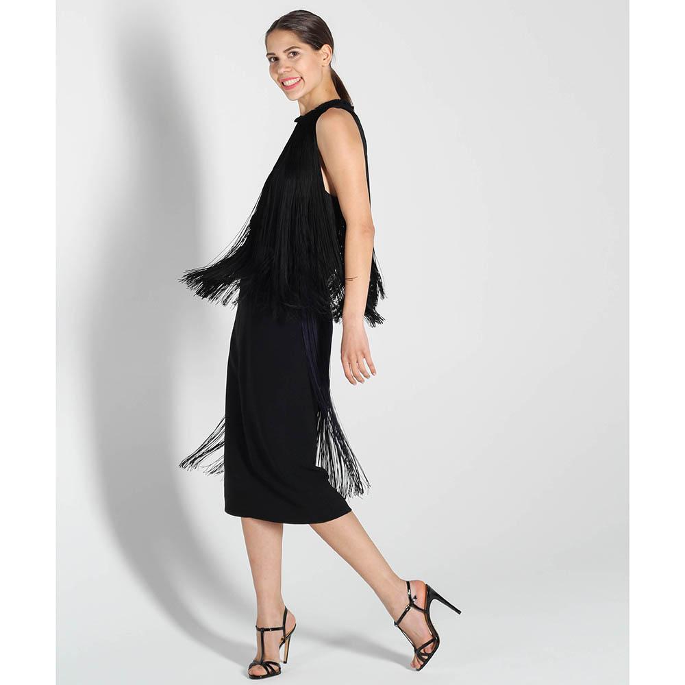 Платье Stella McCartney с длинной бахромой