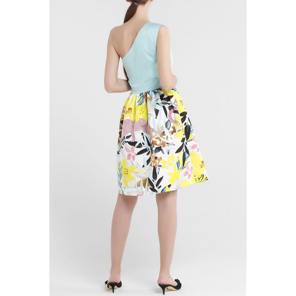 Повседневное платье Cavalli Class с открытым плечом
