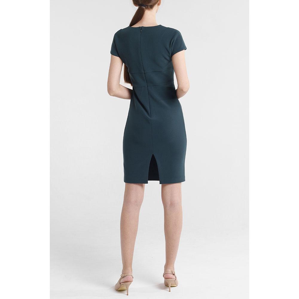 Повседневное платье Marciano зеленого цвета до колен