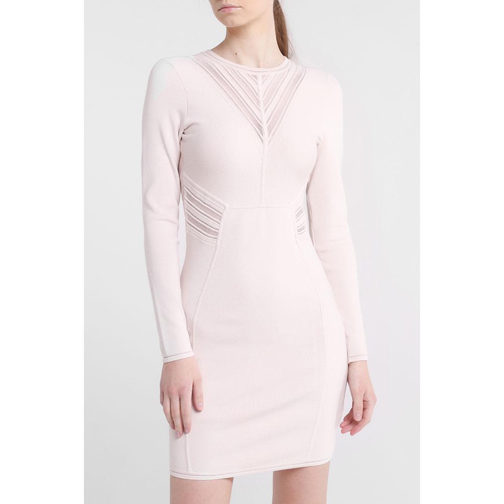 Платье-футляр Marciano с длинным рукавом