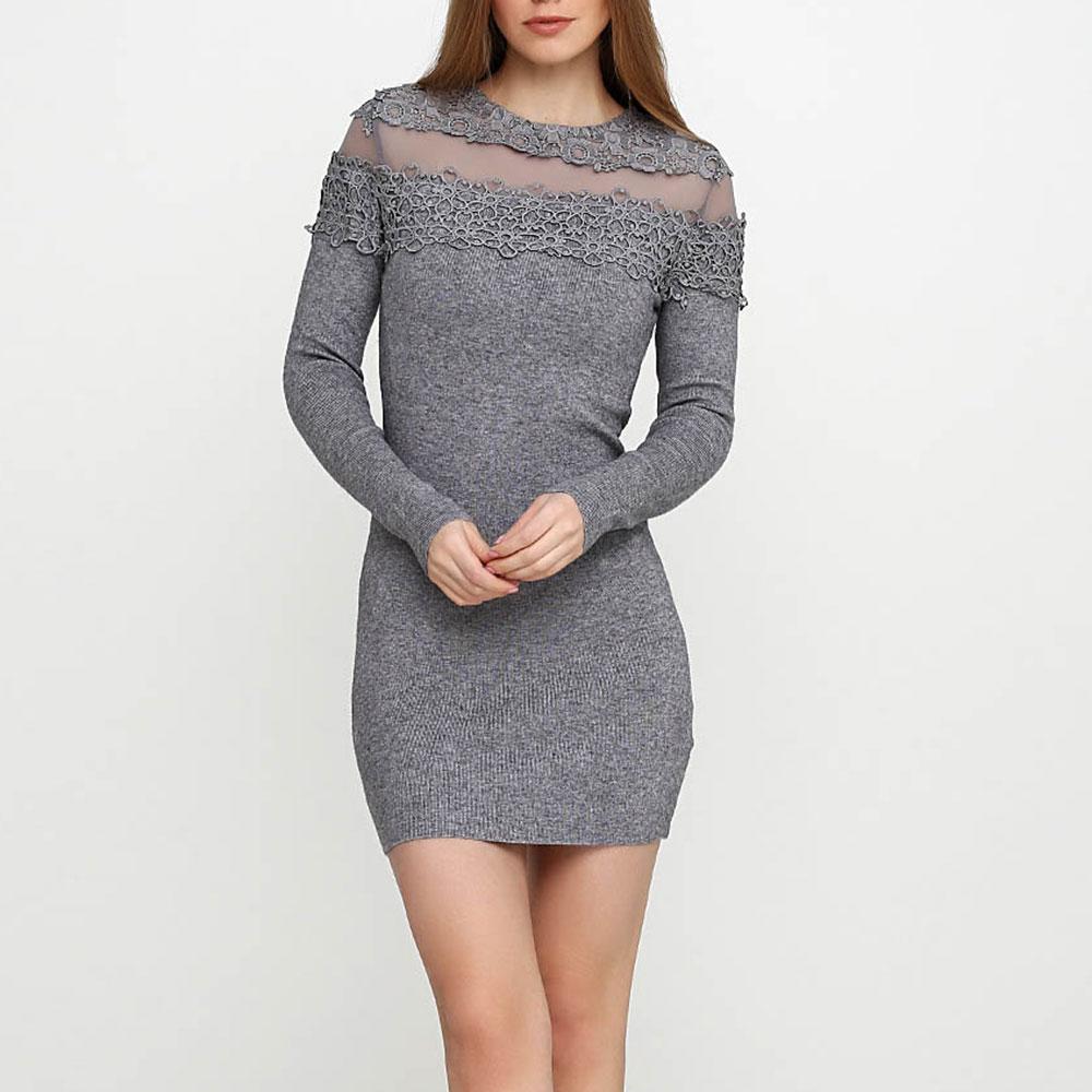 Трикотажное платье Cashmere Company с ажуром
