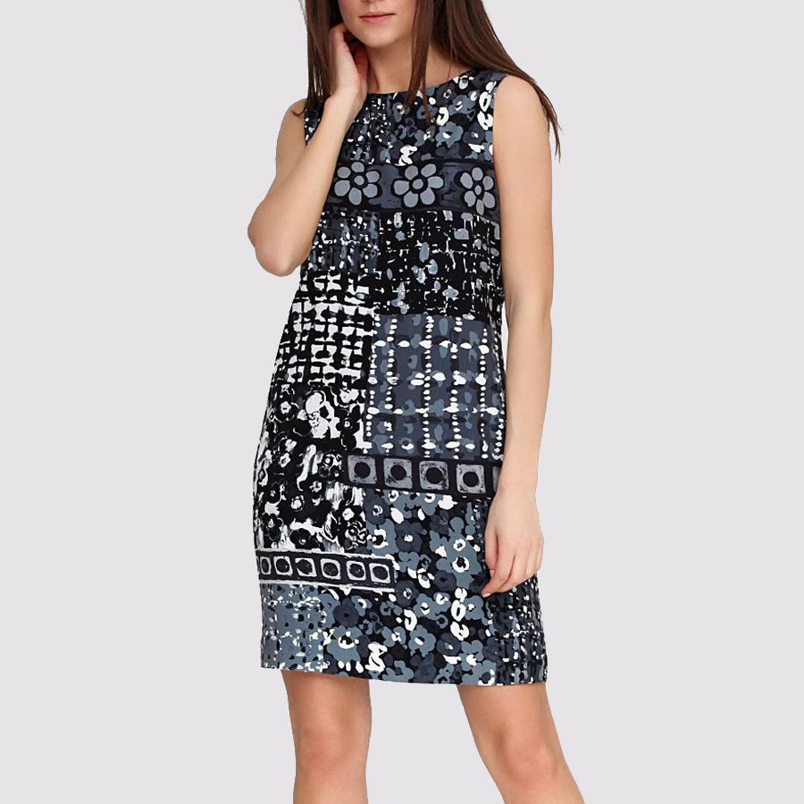 Платье Boutique Moschino с ассиметричной расцветкой