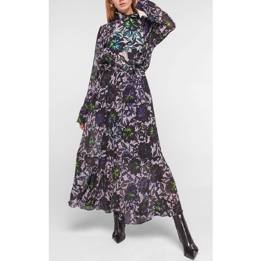 Длинное платье Dorothee Schumacher с принтом