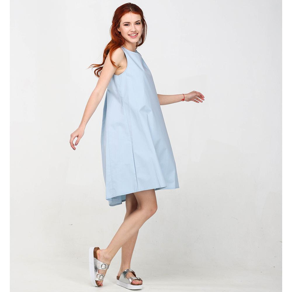 Голубое платье Blugirl Blumarine до колен