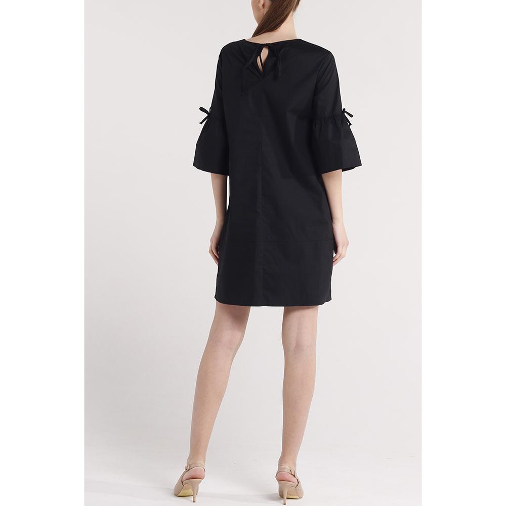 Свободное платье Blugirl Blumarine с укороченным рукавом