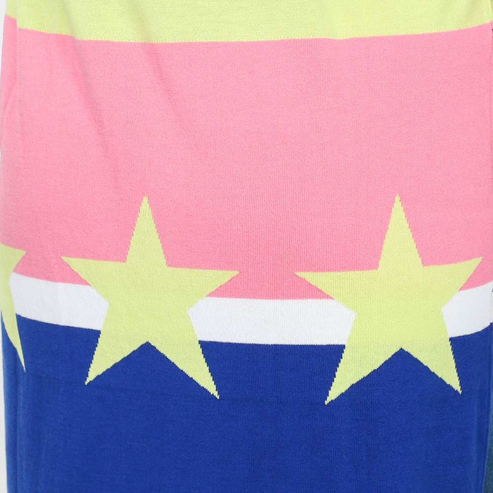 Платье-миди Love Moschino синего цвета без рукавов