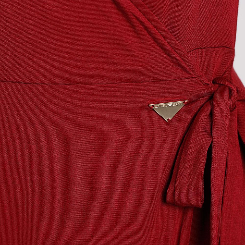 Платье-миди Emporio Armani на запах