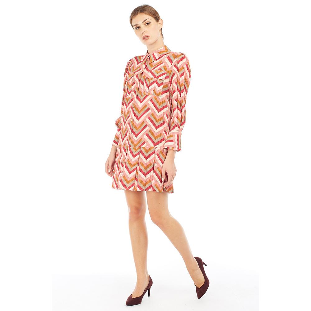 Платье-рубашка Elisabetta Franchi с принтом