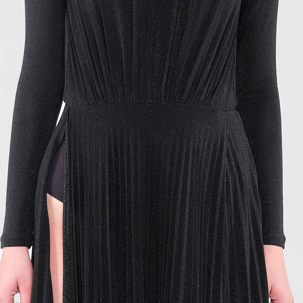 Длинное платье Elisabetta Franchi с открытой спиной