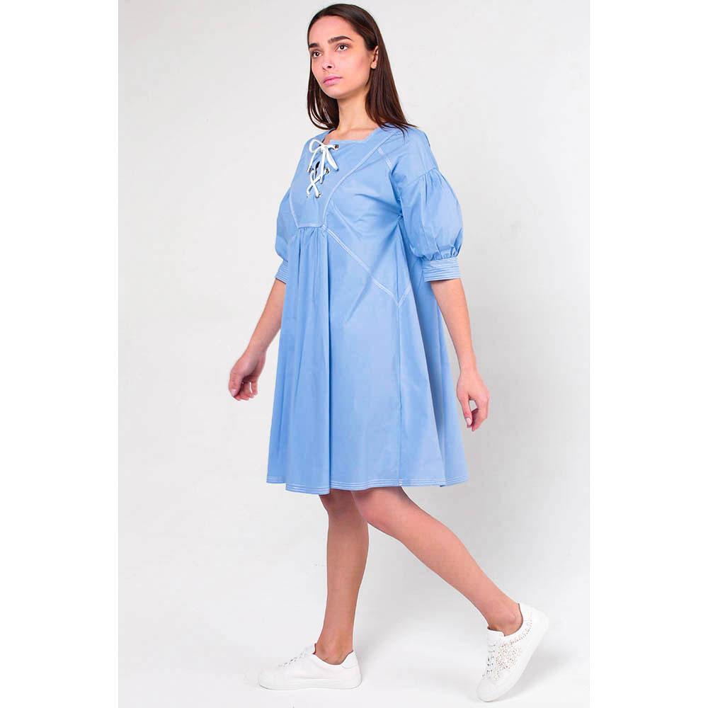 Свободное платье Ermanno Scervino с завязками