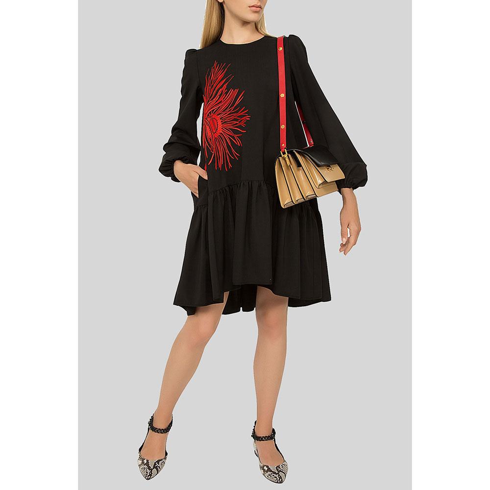 Ассиметричное платье N21 с пышной юбкой