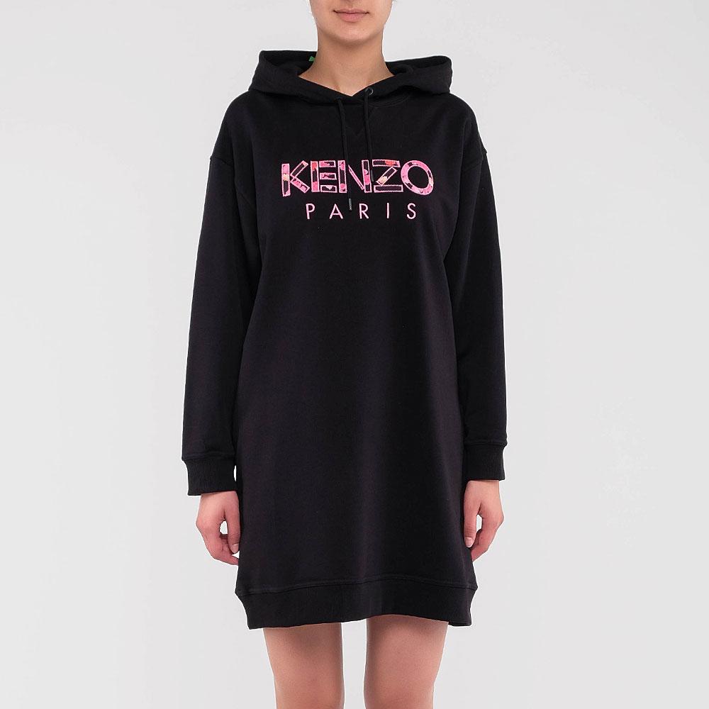Платье-толстовка Kenzo с капюшоном