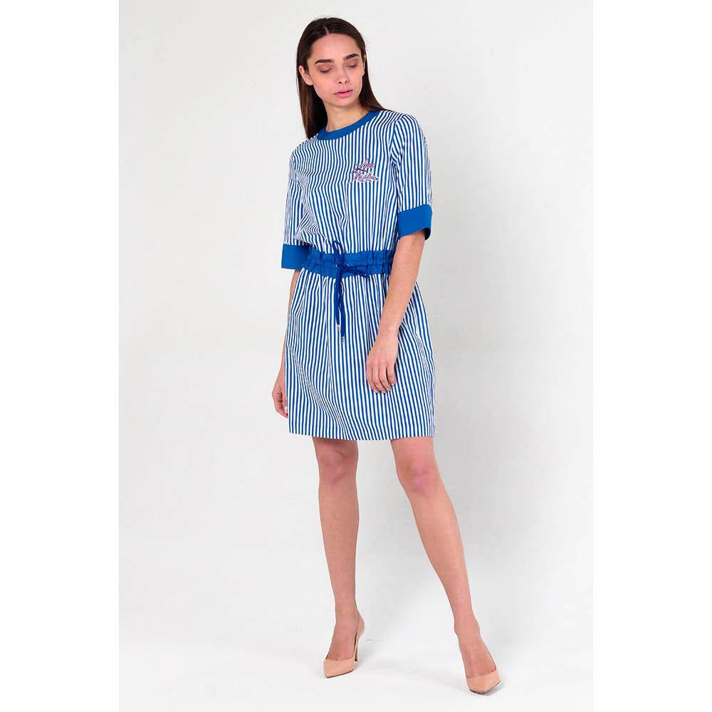 Платье в полоску Love Moschino с поясом