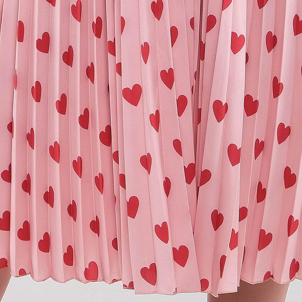 Платье Red Valentino с аппликацией из фактурного бархата