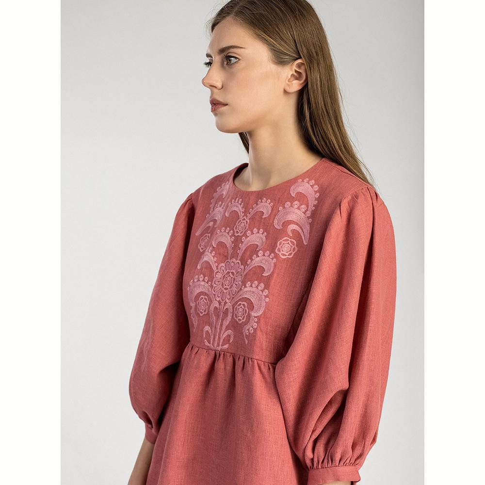 Платье Etnodim Sun Light с пуговицами на спине