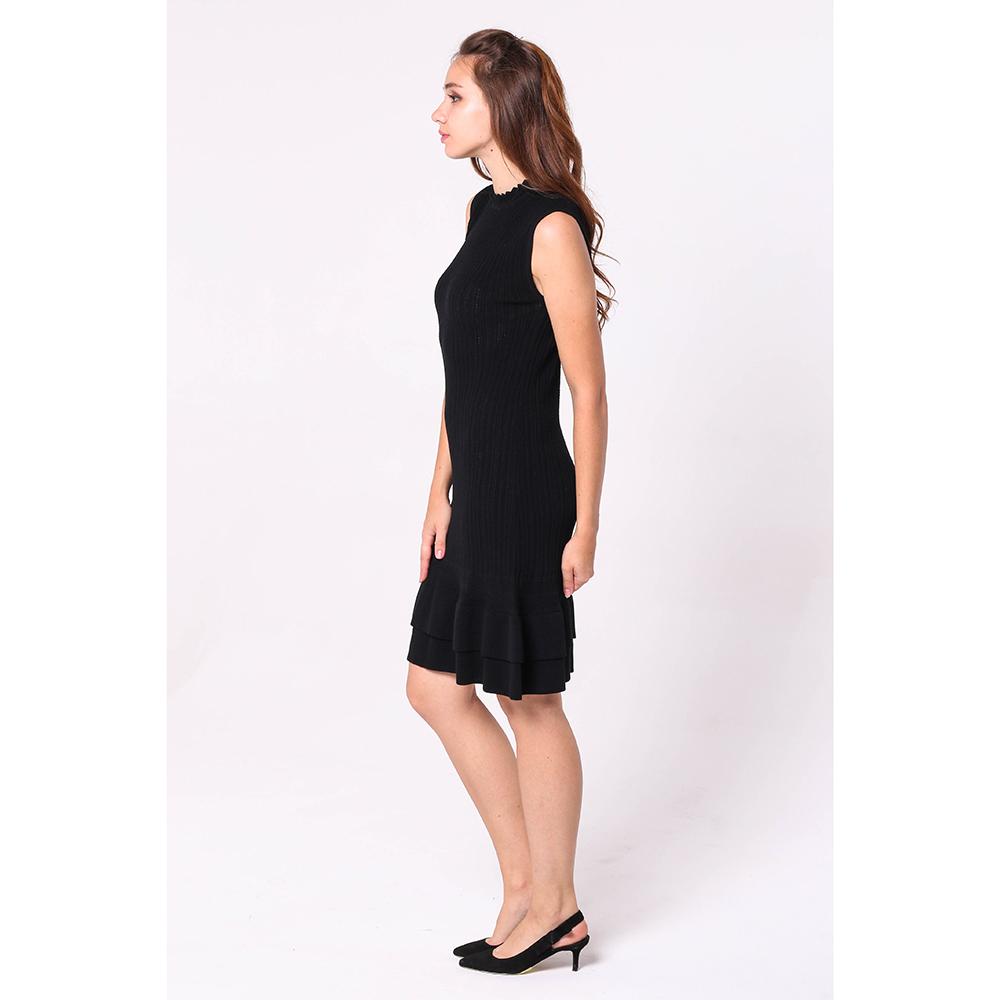 Вязаное платье Emporio Armani до колен
