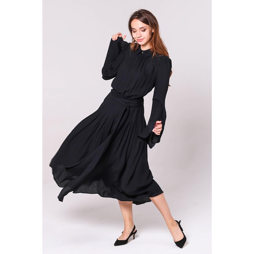 Платье Elisabetta Franchi с пышной юбкой под пояс