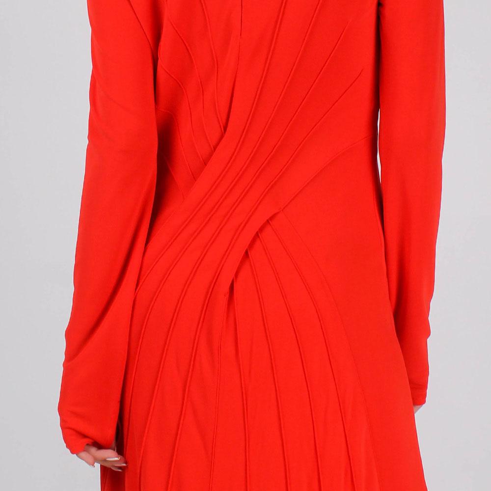 Платье в пол Cavalli Class А-силуэта с брендовым декором