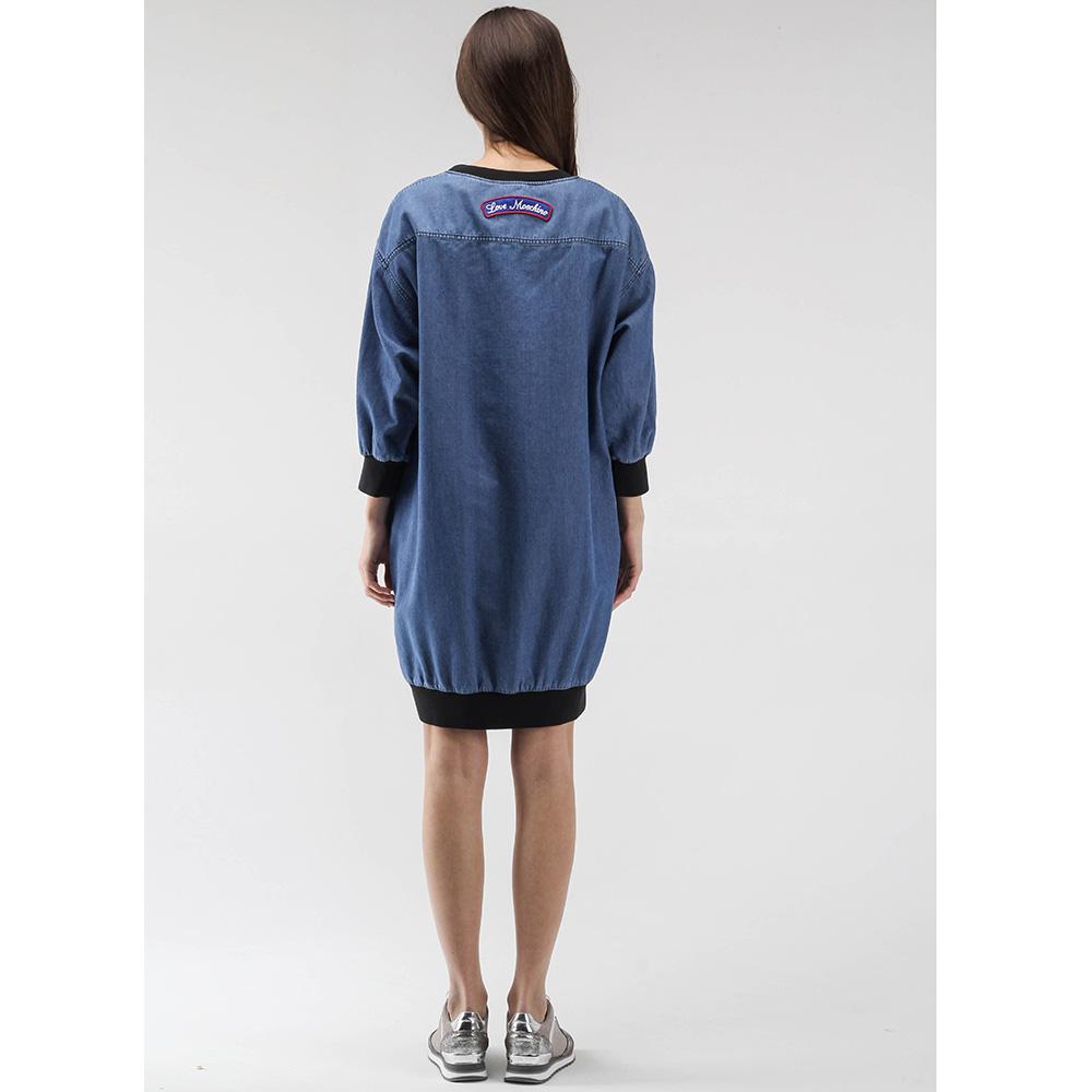 c48832dbb47 ☆ Джинсовое платье Love Moschino оверсайз купить в Киеве
