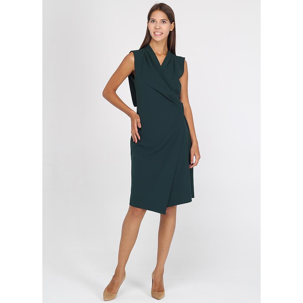 Платье с запахом Blumarine без рукава