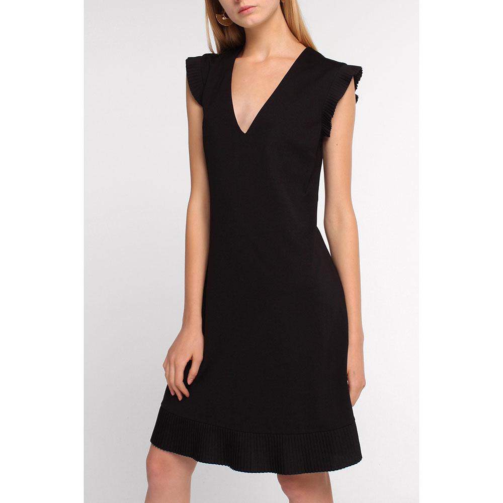 Платье Twin-Set черного цвета до колен