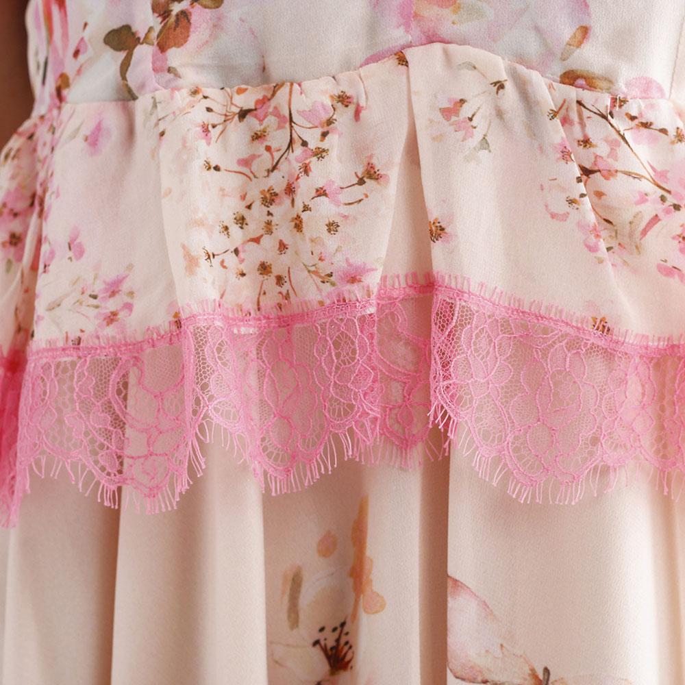 Платье Twin-Set с асимметричной юбкой