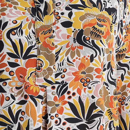 Платье-рубашка Sophie с растительным принтом, фото