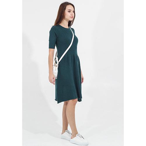 Трикотажное платье Tensione in с расклешенной юбкой, фото
