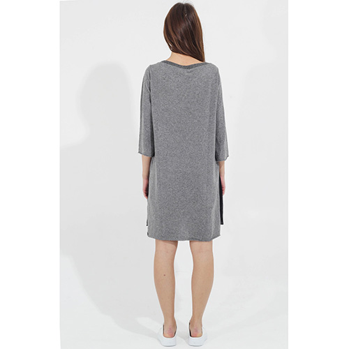 Платье -туника Tensione in с кружевным низом, фото