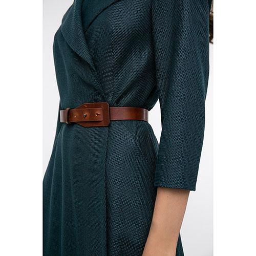 Зеленое платье Shako с пышной юбкой, фото